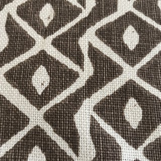"Peter Fasano ""Sarpa"" Toffee Linen Fabric - 10 1/2 Yards Preview"