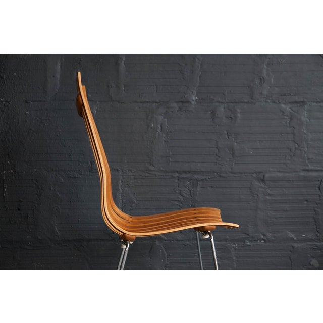 Hans Brattrud Scandia Chairs - Pair For Sale - Image 5 of 9