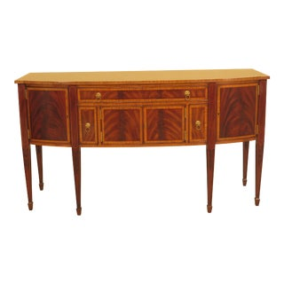 Federal Lineage Inlaid Mahogany Sideboard For Sale