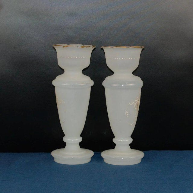 Traditional Bristol Vases For Sale - Image 3 of 7