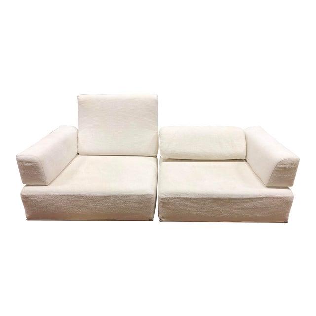 Longhi Two Piece Sofa +Slipcover