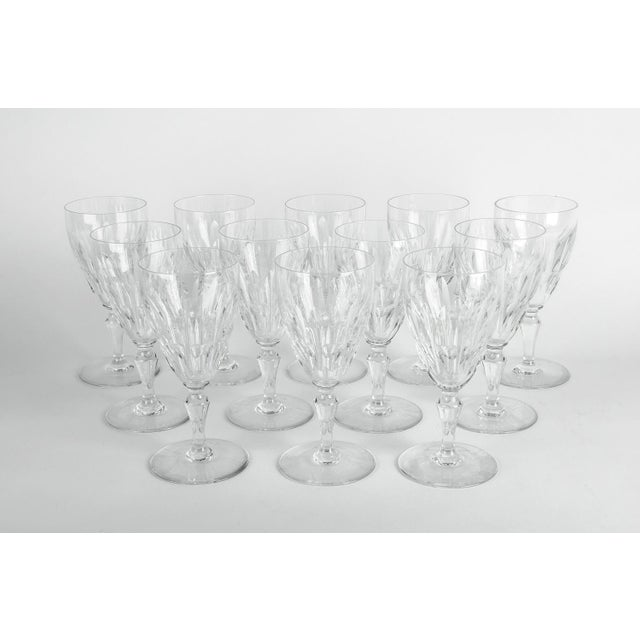 Mid 20th Century Mid 20th Century Baccarat Glassware - Set of 12 For Sale - Image 5 of 5