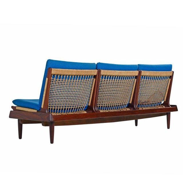 1950s Hans Olsen Tv 161 for Bramin Mobler Modular Rope Seating & End Table Sofa Set For Sale - Image 5 of 12