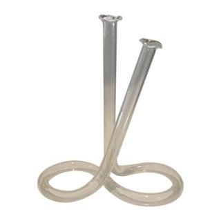 Infinity Glass Tube Bud Vase
