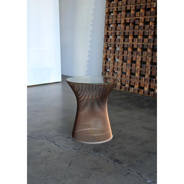 1965 Warren Platner for Knoll Copper Occasional Table For Sale - Image 9 of 9