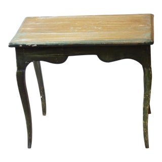 18th C. French Painted Table For Sale