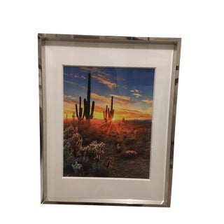 Southwest Desertscape Color Photograph For Sale
