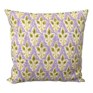 Yellow & Green John Robshaw Pillow