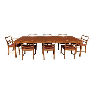 Edward Wormley Dunbar Dining Set - 9 Pieces For Sale