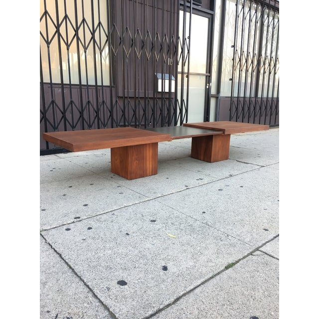 Brown and Saltman Expanding Coffee Table - Image 2 of 10