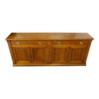French Cherry Hall Chest For Sale