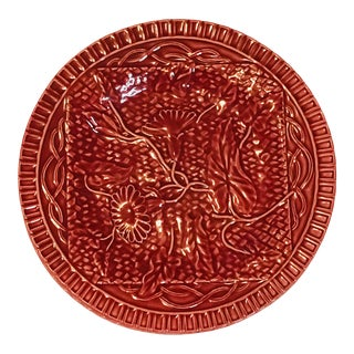 Red Jay Willfred for Bordallo Pinheiro Plates - Set of 5 For Sale