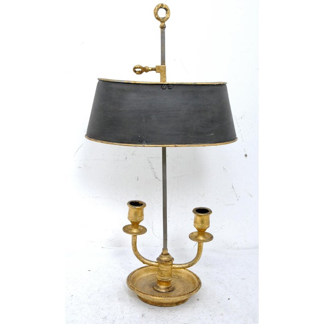 French Bouillotte Lamp For Sale - Image 3 of 5
