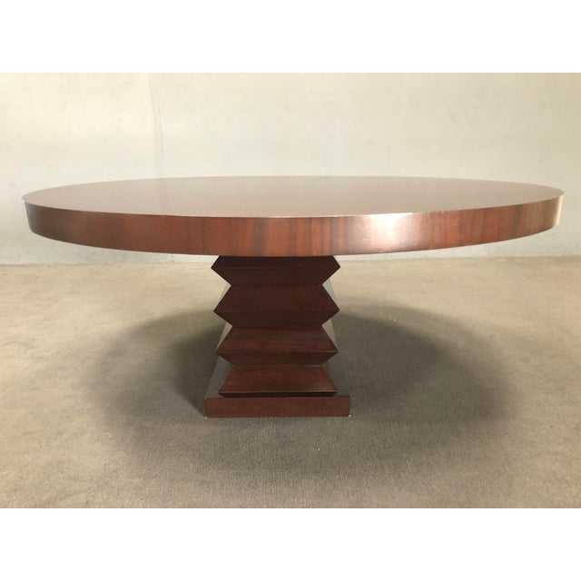 """Contemporary Michael Berman """"Lombard"""" Dining Table For Sale - Image 3 of 10"""