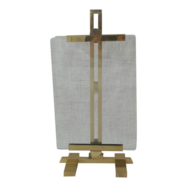 Adjustable Artwork & Photography Brass Easel - Image 1 of 7