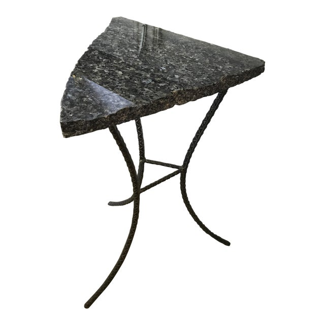 Unique Custom Granite Accent Table - Image 1 of 4