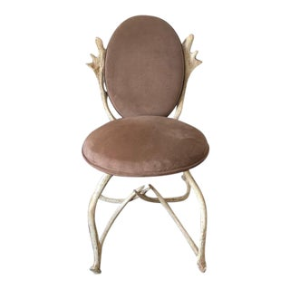 Arthur Court Antler Horn Chair