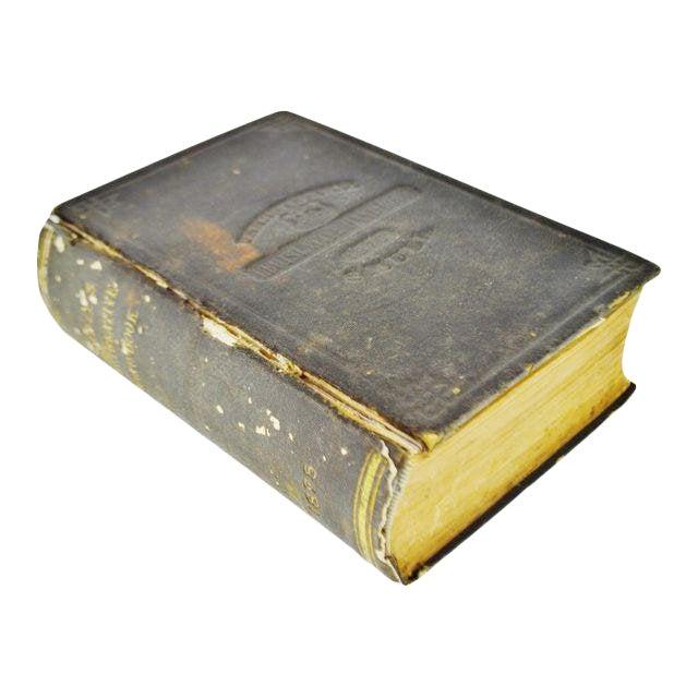 1875 Pennsylvania Legislative Handbook W/ Antique 1875 Map of Pennsylvania Smull For Sale