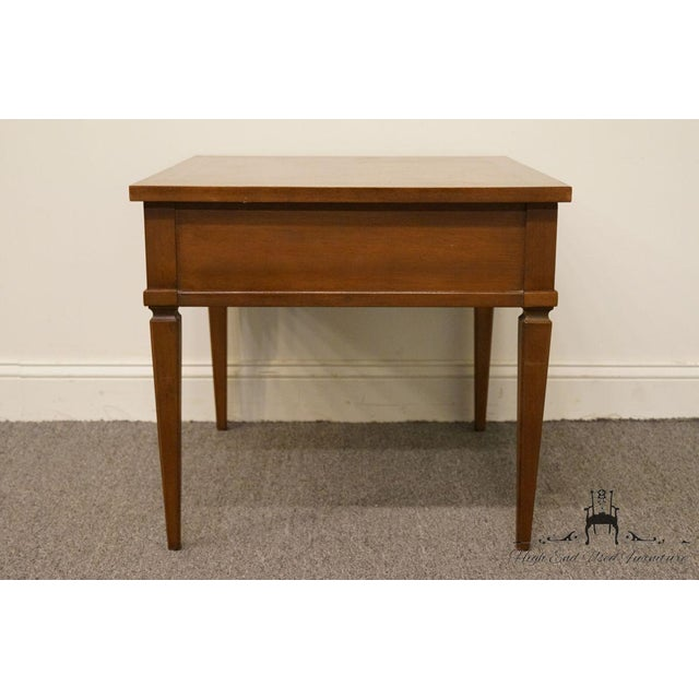 20th Century French Regency American of Martinsville End Table For Sale - Image 10 of 13