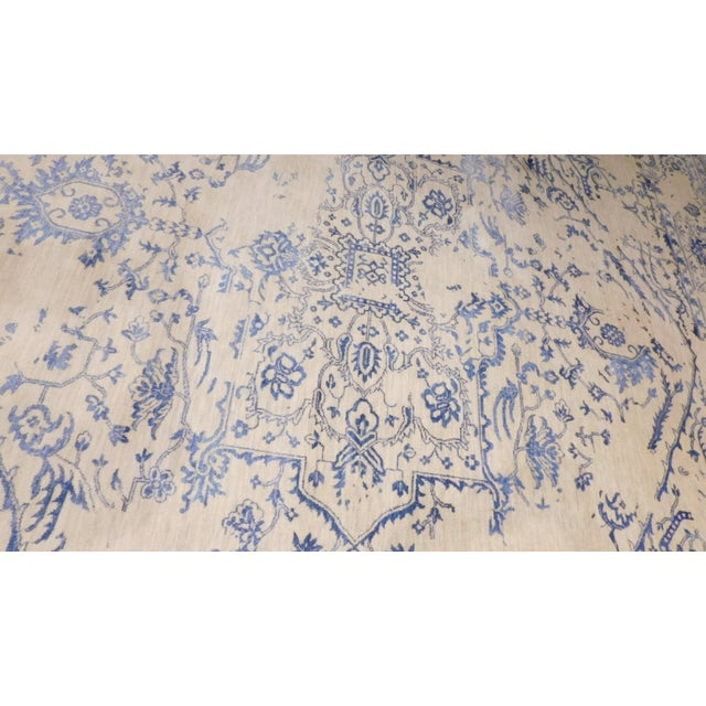"""Erased Hand-Knotted Luxury Rug - 7'11"""" X 9'10"""" - Image 5 of 9"""