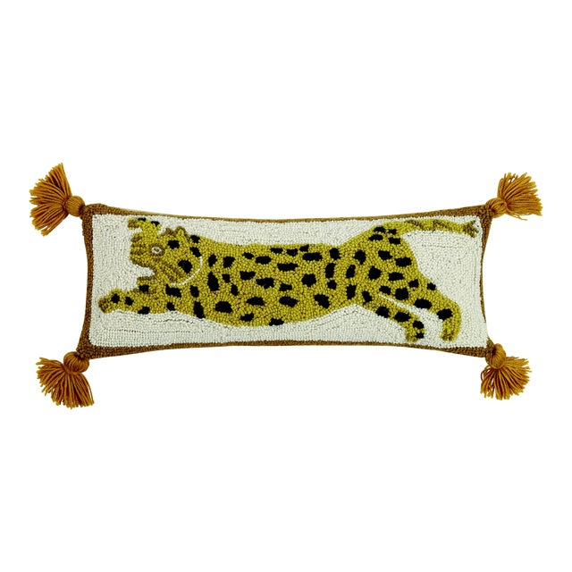 "Chi Chi Hook Pillow, 8"" x 22"" For Sale"
