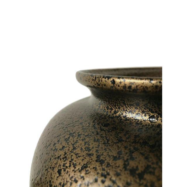 Black & Gold Art Deco Vase - Image 2 of 3