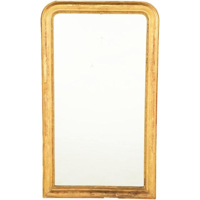 19th Century Gilt Louis Philippe Mirror For Sale