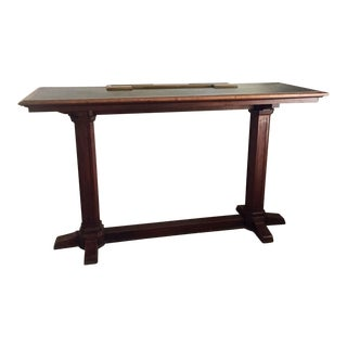 Antique Post Office Writing Table