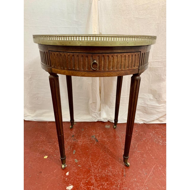Louis XVI Style Gueriodon Table For Sale - Image 9 of 9