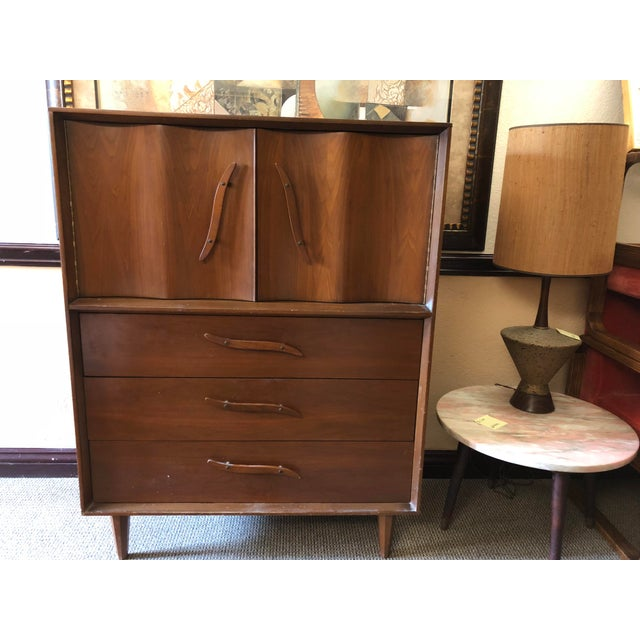 1950s Mid-Century Modern Highboy For Sale - Image 13 of 13