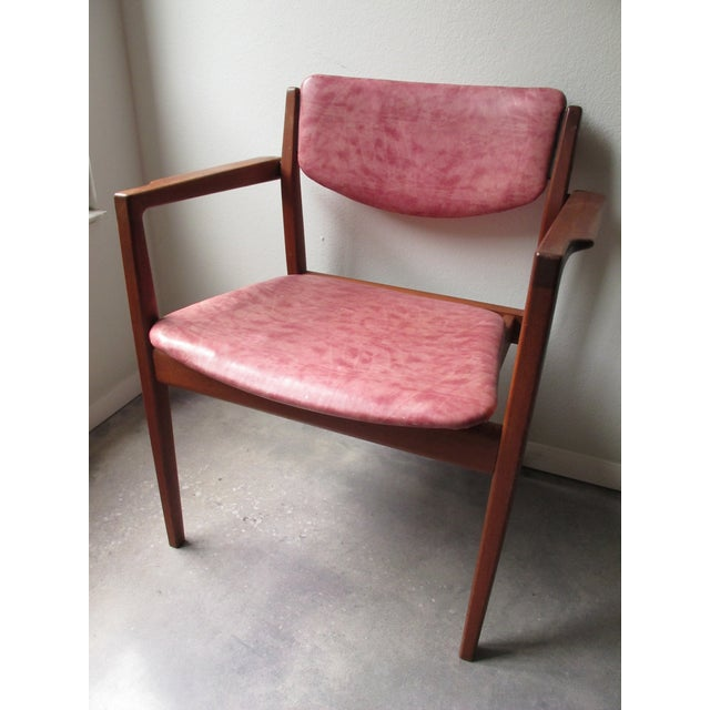 Danish Modern Finn Juhl Teak Armchairs - A Pair | Chairish