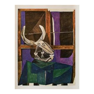 "1940s Pablo Picasso, ""The Bull's Skull"" Original Period Swiss Lithograph For Sale"