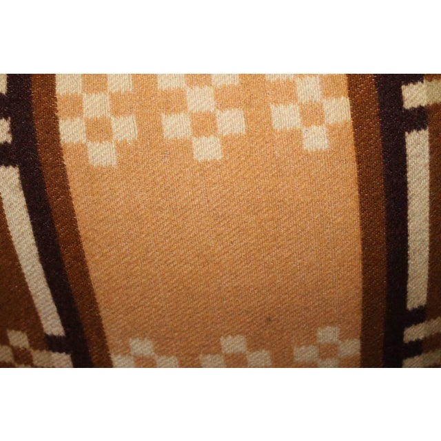 Late 19th Century Group of Four Horse Blanket Pillows For Sale - Image 5 of 10