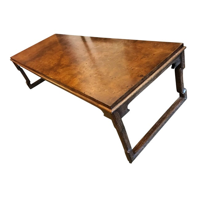 1960s American Tomlinson Walnut Coffee Table For Sale