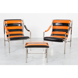 Set of Otto Gerdau Chairs & Ottoman Preview
