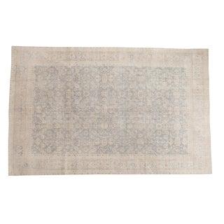 "Distressed Oushak Carpet - 6'1"" x 9'7"""