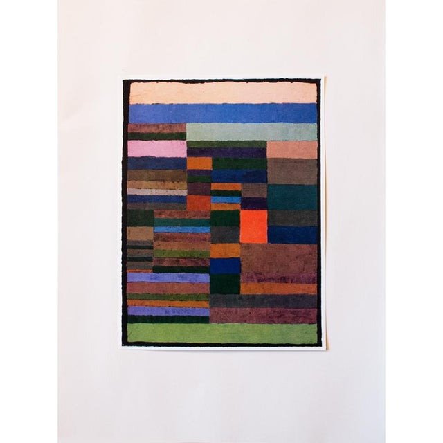 "Lithograph 1958 ""Individualized Measurement of Strata"" Lithograph by Paul Klee For Sale - Image 7 of 8"