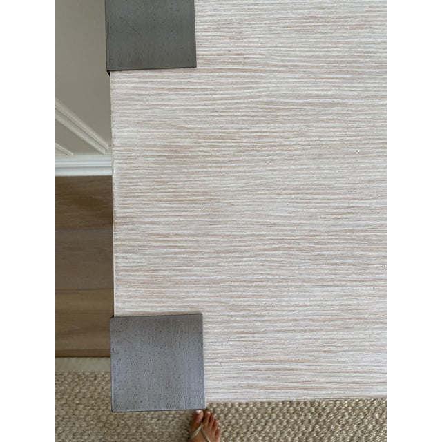 Modern Modern Light Wood Console For Sale - Image 3 of 6