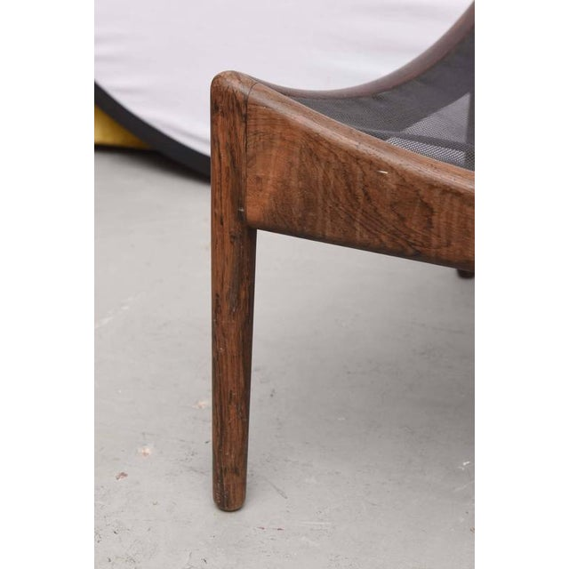 Danish Walnut Footstool or Ottoman, 1960s, Denmark For Sale In Miami - Image 6 of 8