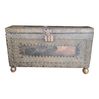 18th Century Spanish Trunk For Sale