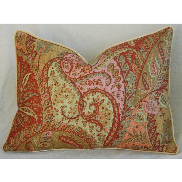 Designer Brunschwig & Fils Paisley Pillows - Pair - Image 8 of 9