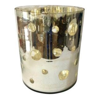 Modern Mercury Glass Vase For Sale