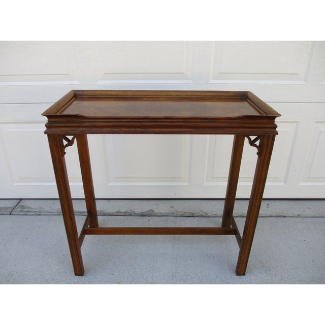Chippendale Style Console Table For Sale - Image 11 of 11