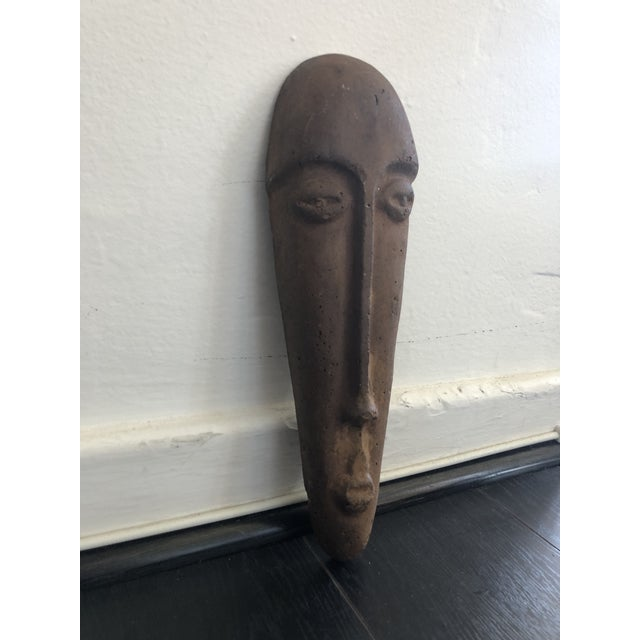 Special and spooky. Long primitive face. Sculpted and dimensional.