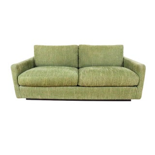 Vintage Mid Century Loveseat by Milo Baughman for Thayer Coggin For Sale