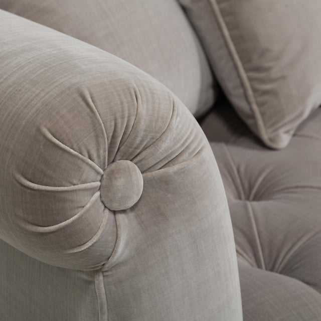Customizable The Deep Buttoned Sofa by Talisman Bespoke For Sale - Image 10 of 11