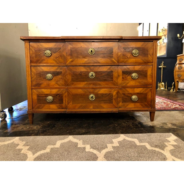 Louis XVI Period Chest of Drawers For Sale - Image 9 of 9