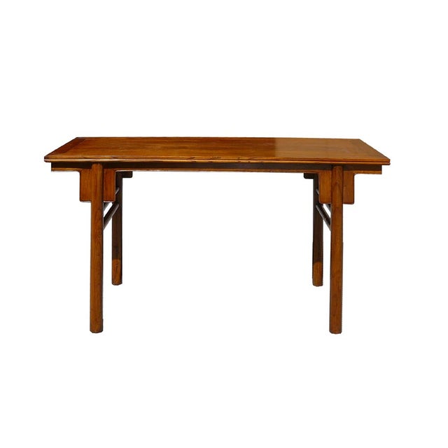 Chinese Natural Wood Altar Console Table - Image 2 of 5