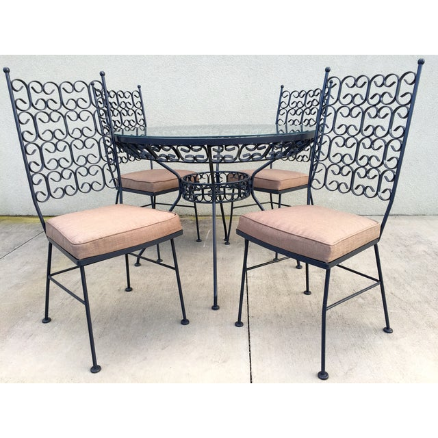 Modern Arthur Umanoff Patio Dining Set For Sale - Image 3 of 11