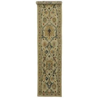 "Neoclassical Style Persian Sultanabad Hallway Runner - 3' X 16'3"" Preview"